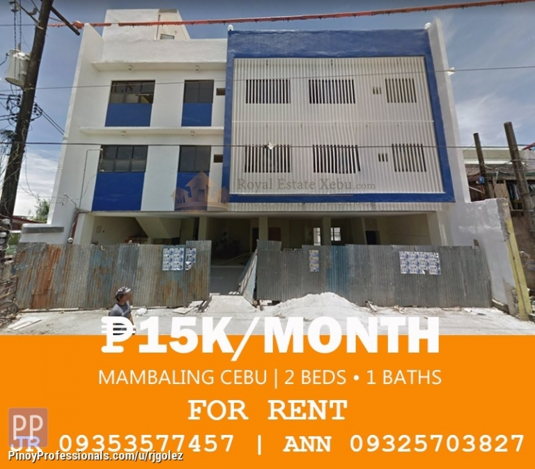 Apartment and Condo for Rent - Apartment for rent in Mambaling Cebu City