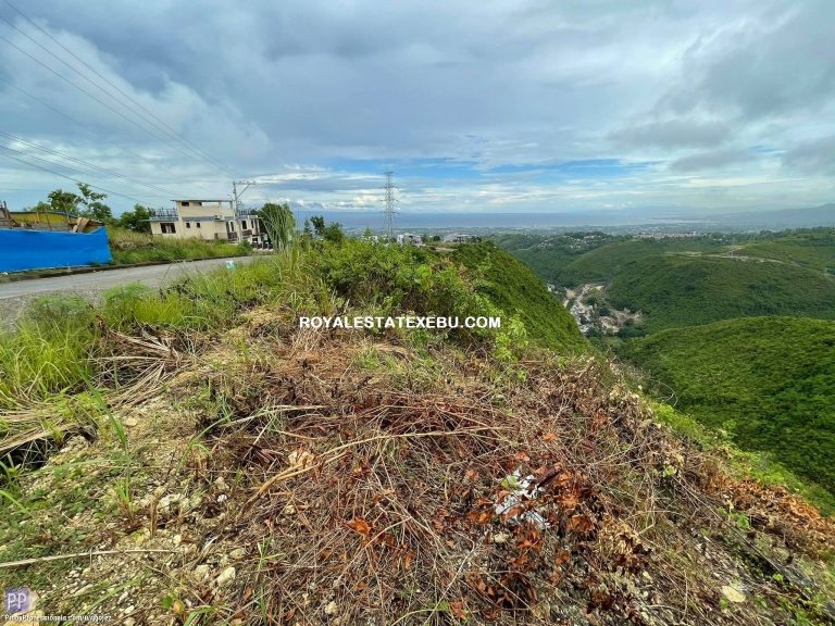 Land for Sale - OVERLOOKING LOT FOR SALE IN CEBU CITY AND TALISAY CEBU