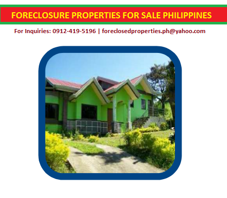 House for Sale - Foreclosed: Lot 6 Blk. 26 Winchester St., Rodeo Hills, Brgy. Buckstate, Alfonso Cavite
