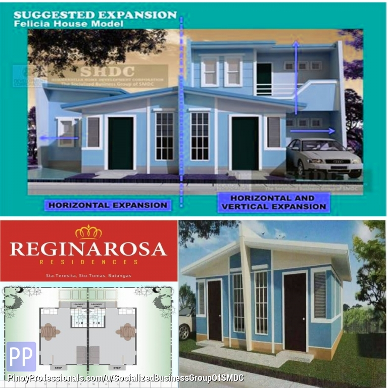 House for Sale - Socialized Batangas Duplex Thru Pag Ibig for Sale as low price