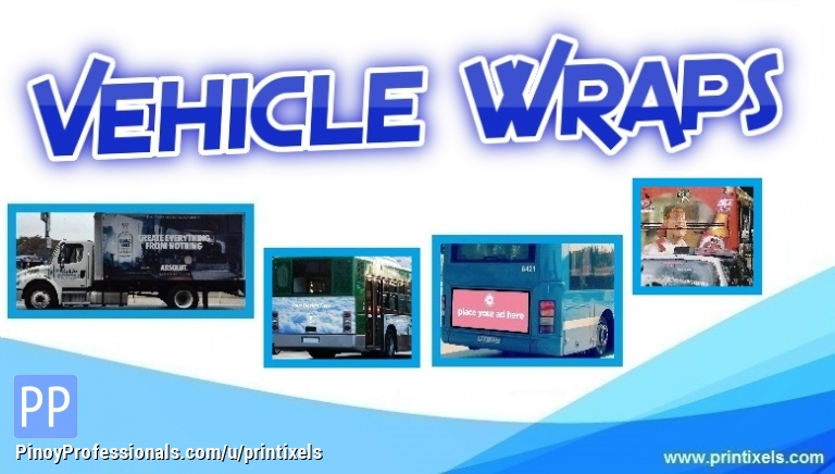Vinyl Graphic Wraps, Vehicle Stickers and Decals - Printing