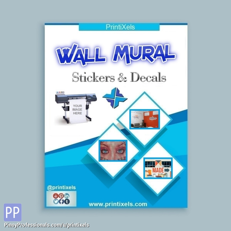 Sticker Printing Services Wall Murals Floor Decals