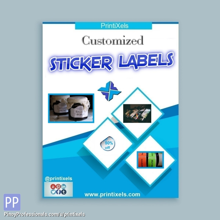 Custom Label Stickers Philippines Nationwide Delivery