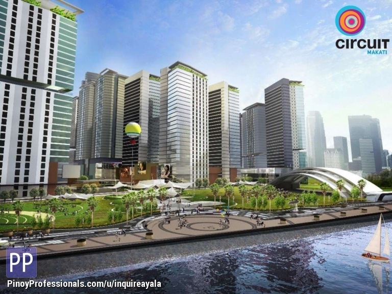 Apartment and Condo for Sale - AYALA LAND'S CIRCUIT MAKATI: Residential condos for sale!