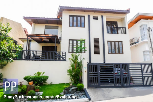 Zen House For Sale In Tahanan With Swimming Pool Real Estate House For Sale In Paranaque