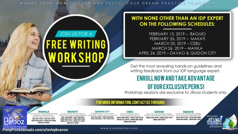 Courses and Seminars - Jrooz Free Writing Workshop
