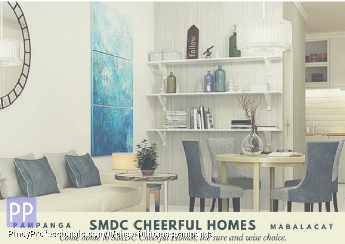 House for Sale - house for sale in SM Project Cheerful Homes Mabalacat Pampanga 2br 22sqm