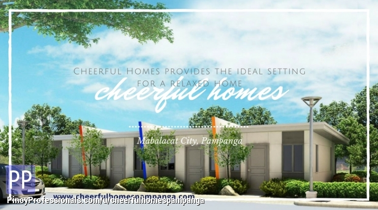 House for Sale - House and Lot pre-selling in Mabalacat prime area in Pampanga by SMDC Cheerful Homes