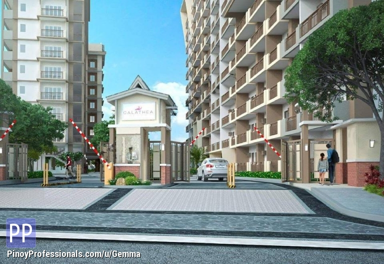 Apartment and Condo for Sale - 2bedroom unit in Calathea Place near MOA, NAIA Terminals, Alabang and C5