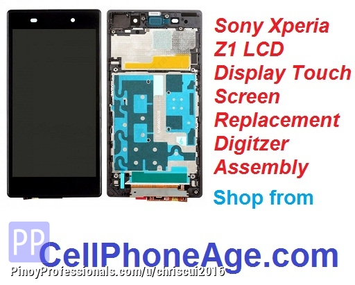 Cell Phones and Smartphones - Sell Sony Xperia Z1 LCD screen digitizer