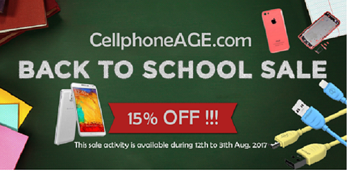 Cell Phones and Smartphones - Back To School Sale on Cell Phone Age