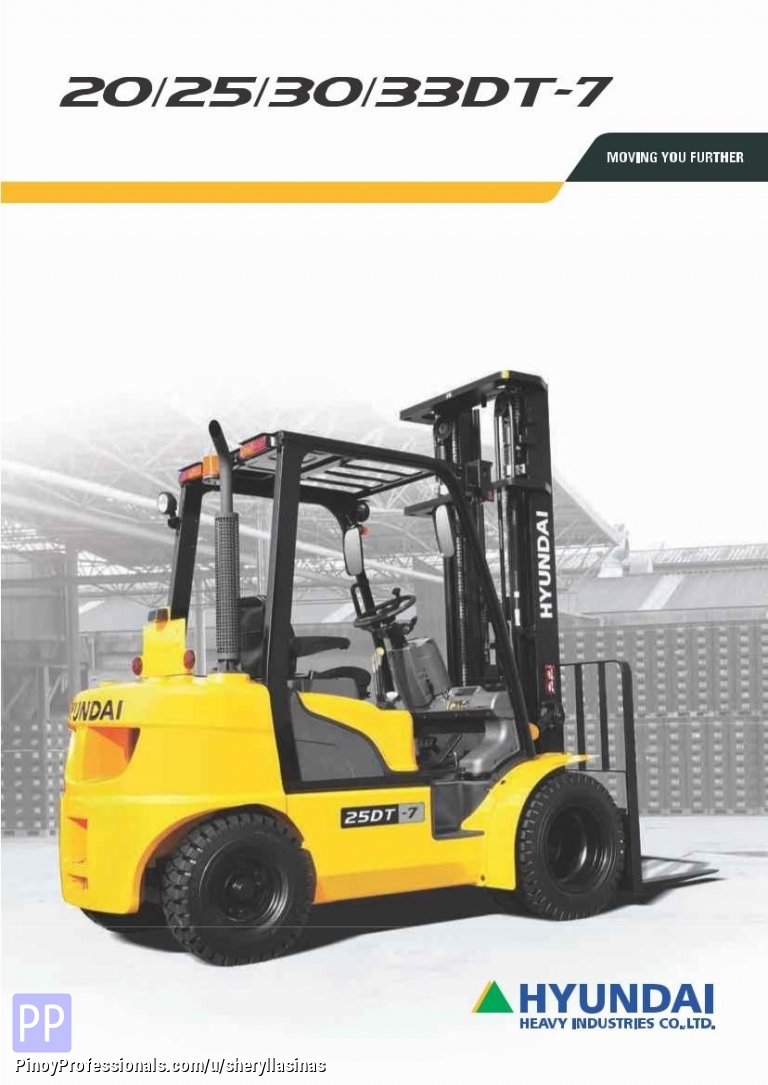 Trucks for Sale - Hyundai Diesel Forklift