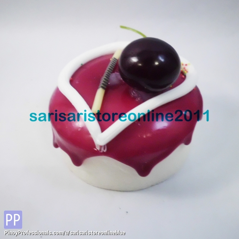 Everything Else - Round Cake Magnet with Cherry Topping
