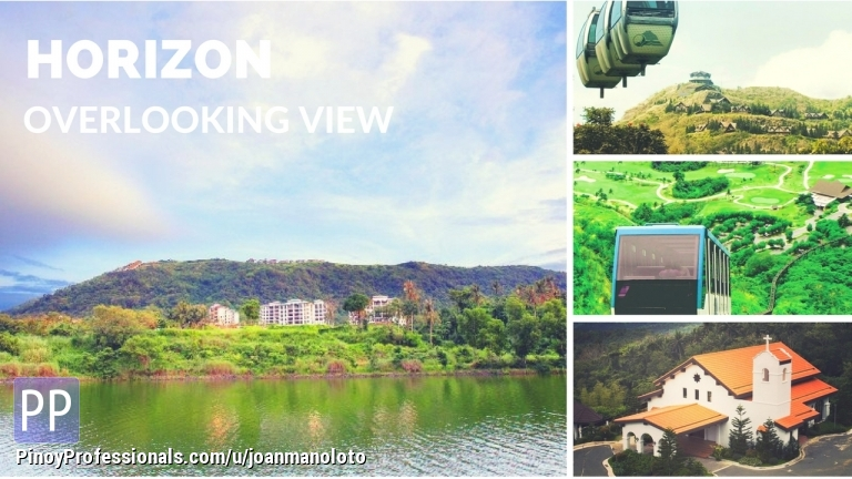 Apartment and Condo for Sale - Horizon Terraces condo in Tagaytay Highalnds with breathtaking views of Lake