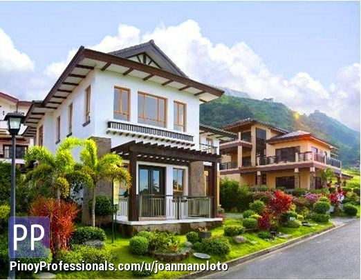 House for Sale - House and Lot Tagaytay Highlands furnished w view of Lake 4br