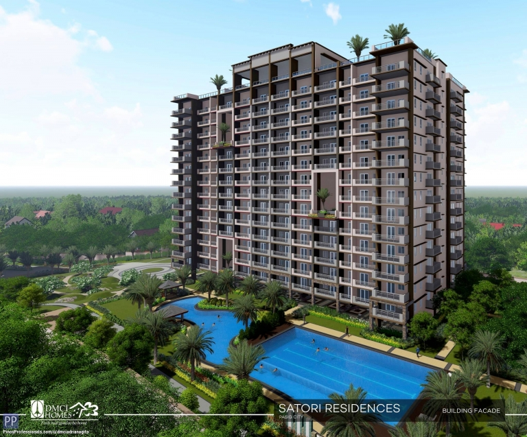 Apartment and Condo for Sale - 3 Bedroom Condo near Eastwood Pasig by Dmci Homes