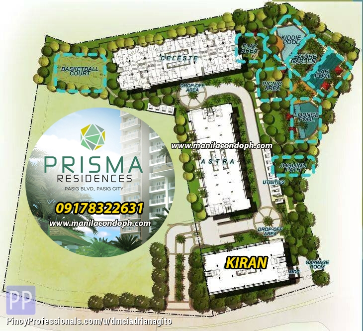 Apartment and Condo for Sale - Prisma Residences Condo For Sale in Pasig near Shangrila BGC