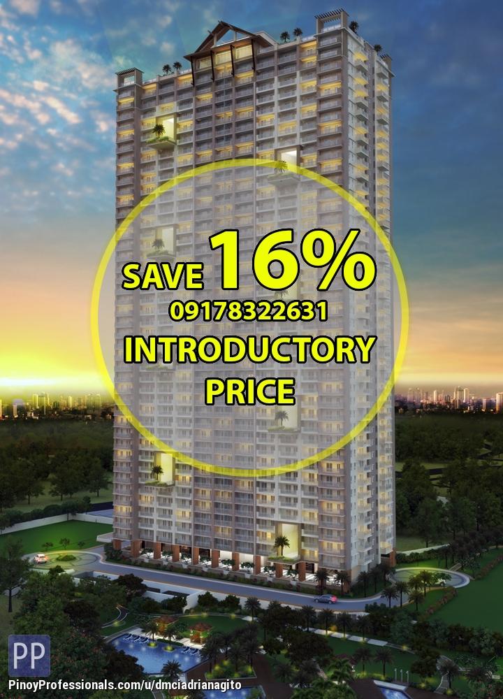 Apartment and Condo for Sale - Condo For Sale near BGC Taguig Prisma Residences near Rizal Medical