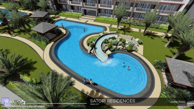 Apartment and Condo for Sale - Condo For Sale near Eastwood Satori Residences by DMCI
