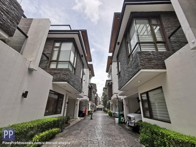 House for Sale - Victoria Executive Mansion New Manila Premiere Townhouse