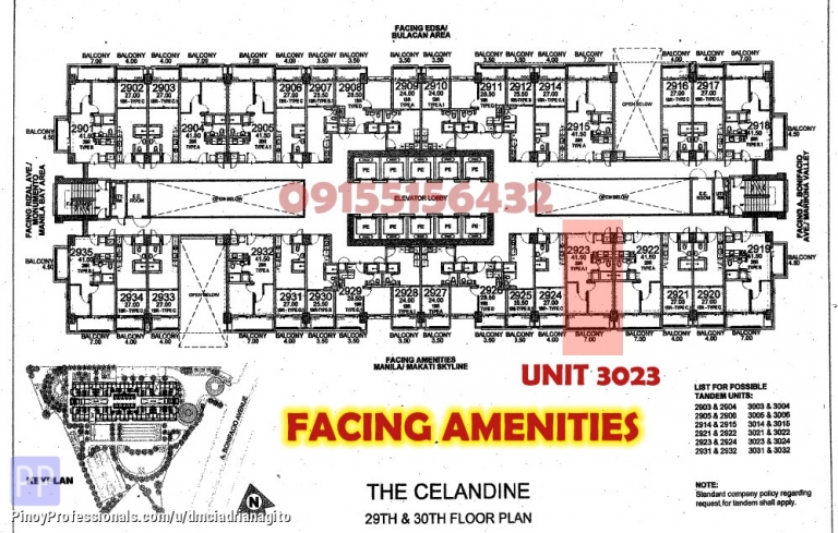 Apartment and Condo for Sale - The Celandine 2 Bedroom Rush Sale