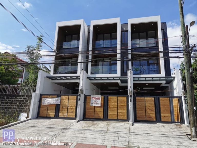 House for Sale - Elegant Townhouse For Sale in Don Antonio Commonwealth