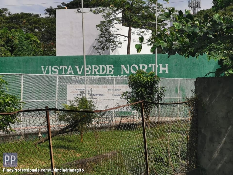 Land for Sale - Residential Lot For Sale Vista Verde North Executive Village near Mindanao Ave Nlex