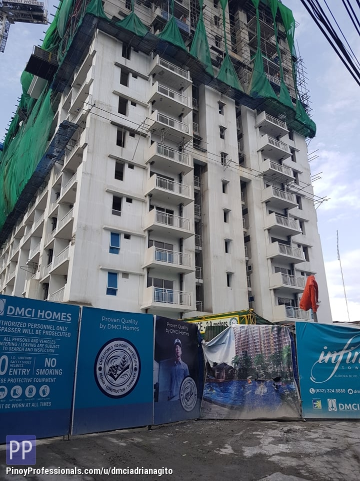 Apartment and Condo for Sale - Rush Sale 1 Bedroom Condo in Infina Towers Dmci Homes Quezon City