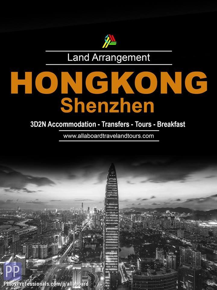 Travel Destinations - Hong Kong with Shenzhen Land Arrangement