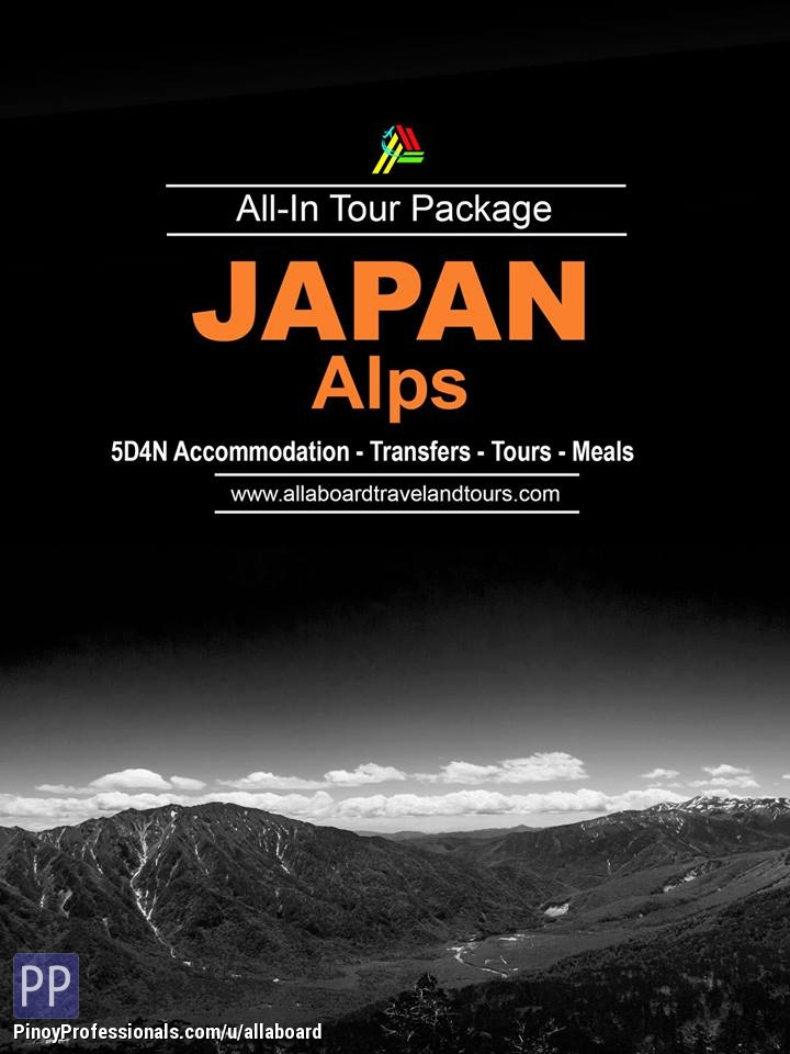Travel Destinations - Japan Alps All-In Tour