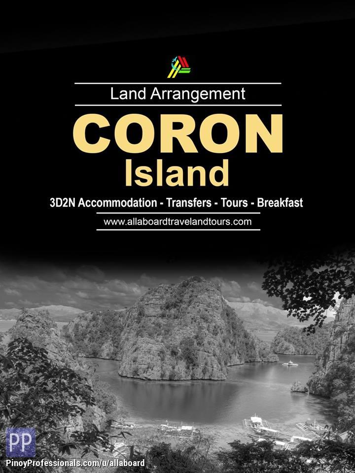 Travel Destinations - Coron Island Tour