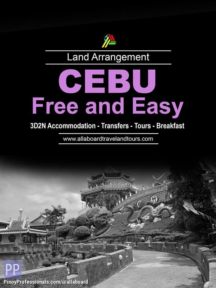 Travel Destinations - Cebu Free and Easy Tour