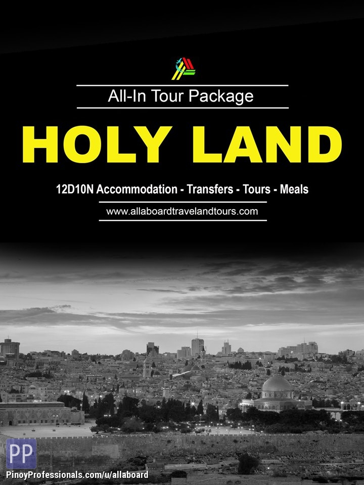 Vacation Packages - Holy Land All-In Tour