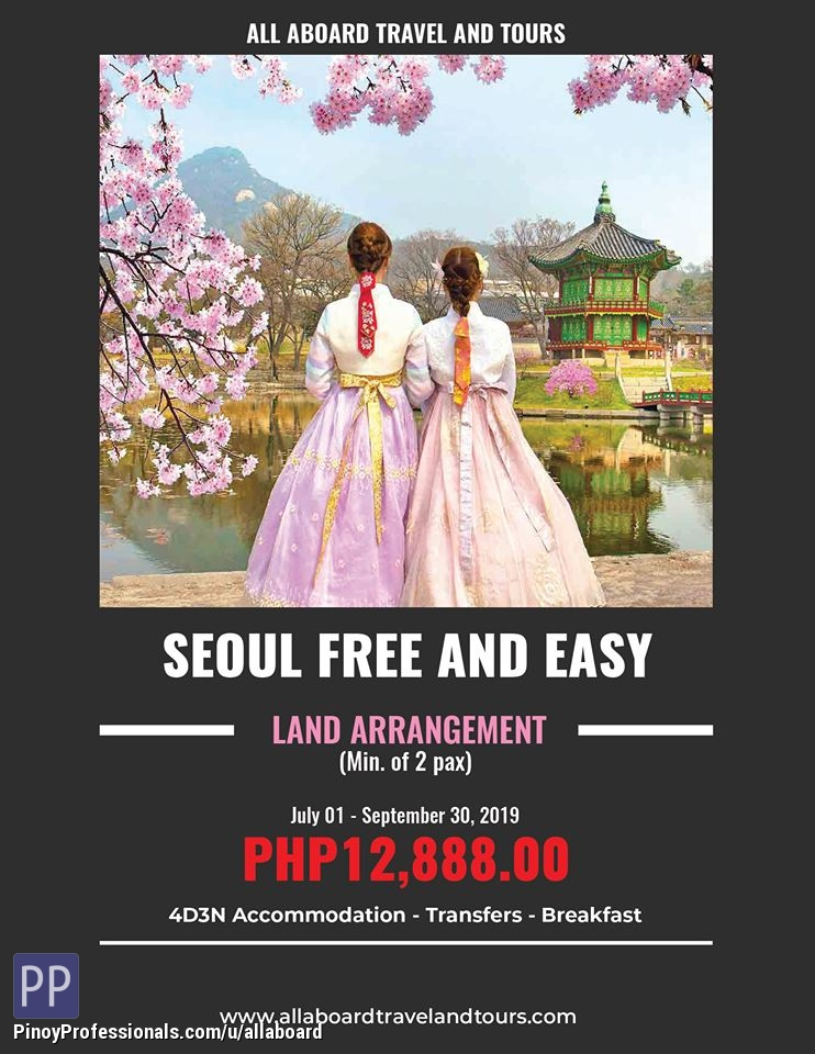Travel Destinations - Seoul Free and Easy