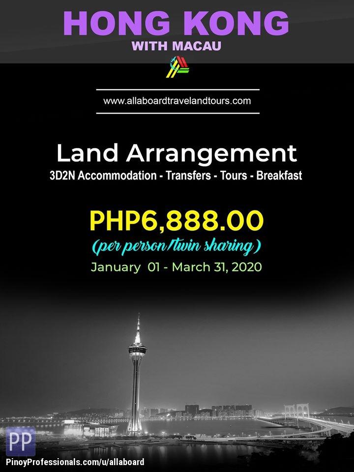 Travel Destinations - Hong Kong with Macau Land Arrangement