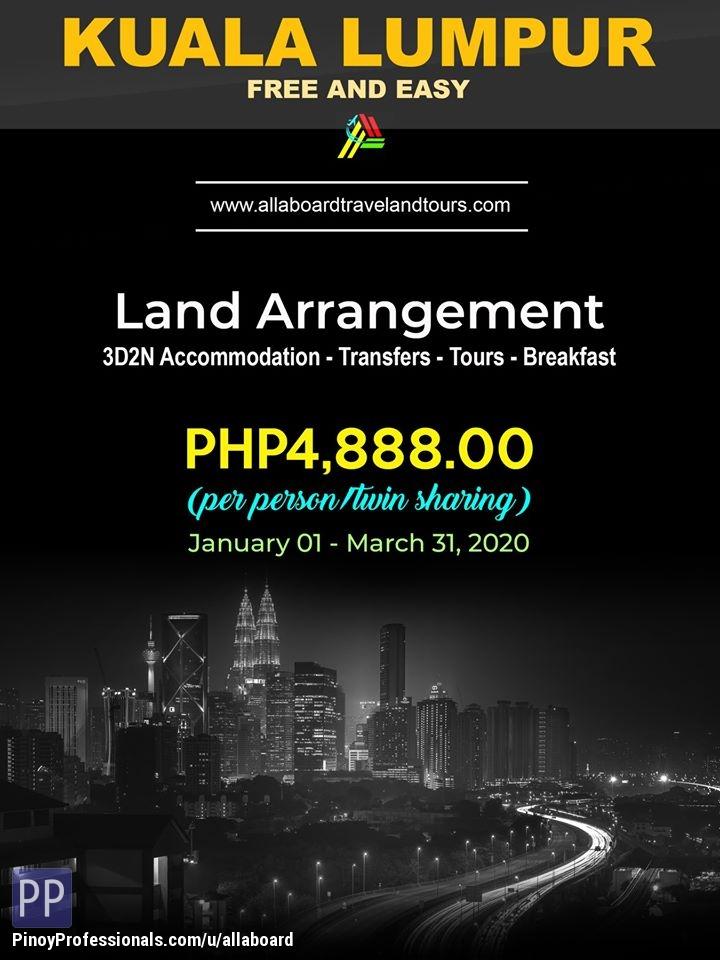 Travel Destinations - Kuala Lumpur Free and Easy Land Arrangement