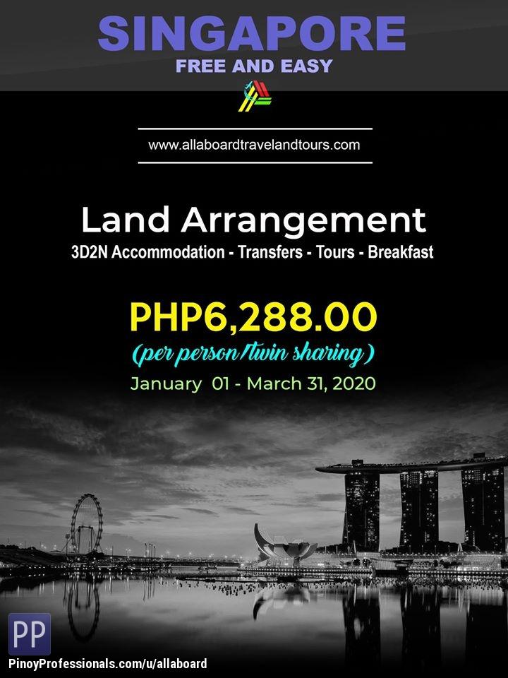 Travel Destinations - Singapore Free And Easy Land Arrangement