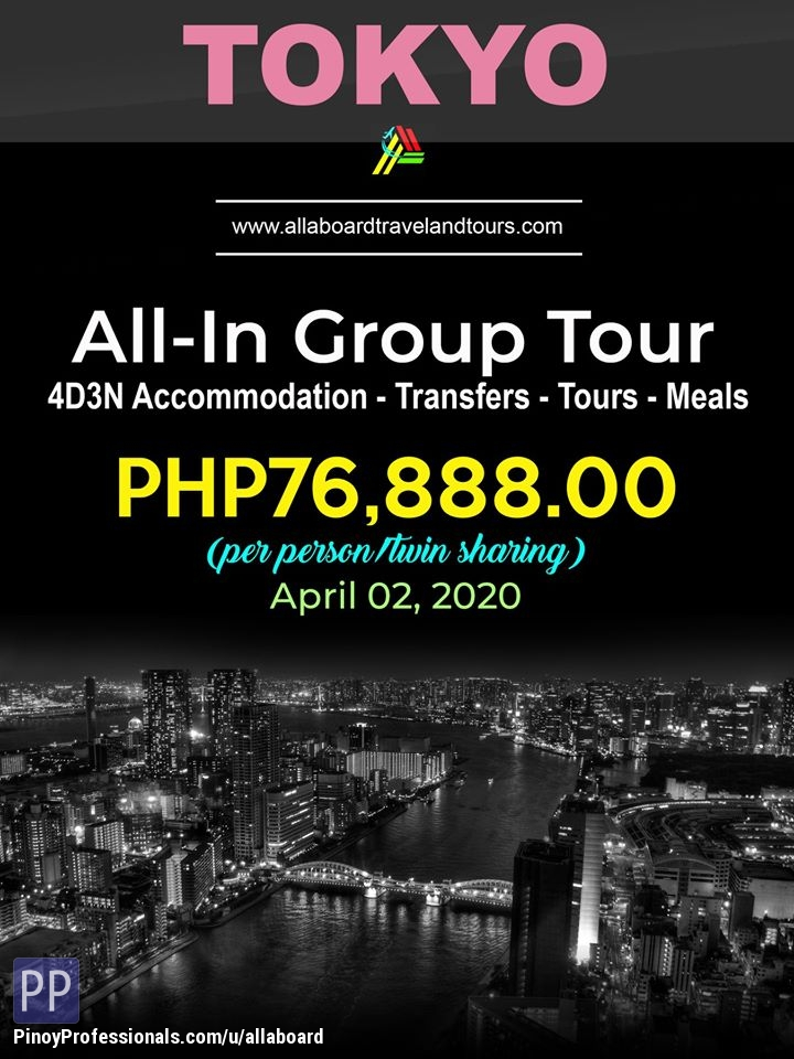 Travel Destinations - Tokyo All-In