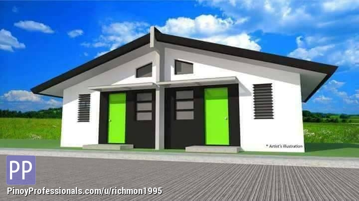 House for Sale - Murang Pabahay Erinville For Sale Thru Pag-ibig