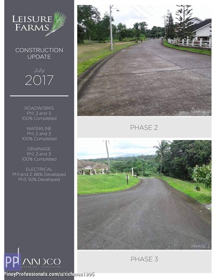Land for Sale - Lot For Sale in Leisures Farm In Lemery Batangas with Big Discount
