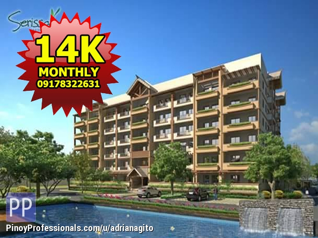 Apartment and Condo for Sale - Serissa Residences Dmci Condo For Sale in Las Pinas near Alabang
