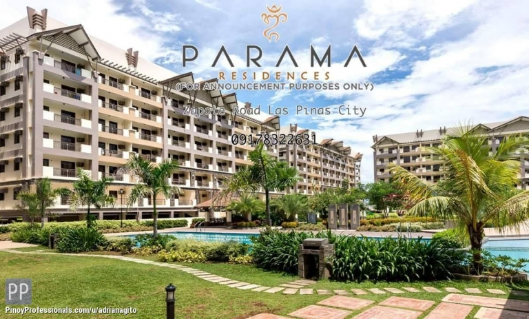 Apartment and Condo for Sale - 2 Bedroom Condo in Las Pinas City near Alabang Parama Dmci