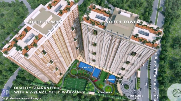 Apartment and Condo for Sale - Infina Towers Condo near Ateneo College Katipunan QC