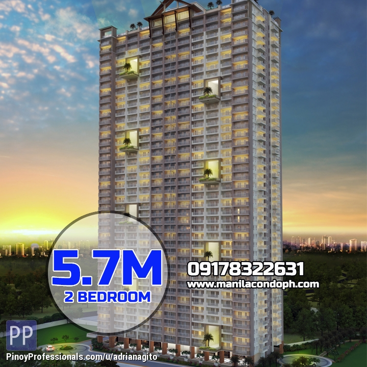 Apartment and Condo for Sale - Prisma Residences 2 Bedroom Condo near Capitol Commons Pasig City