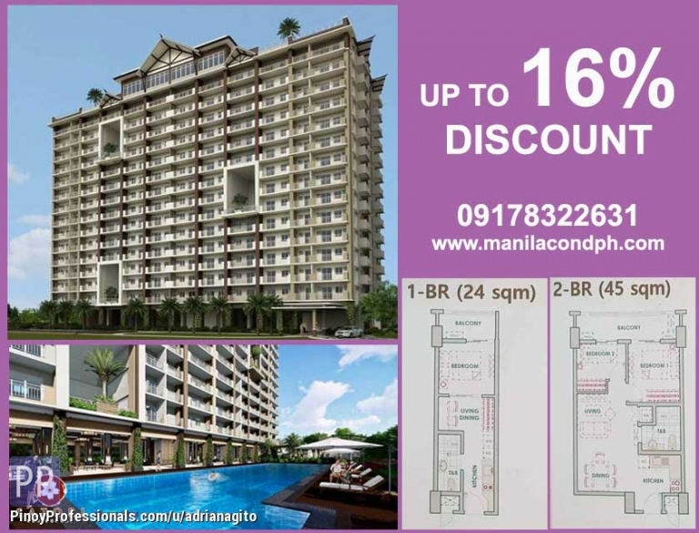 Apartment and Condo for Sale - Satori Residences by dmci Homes Condo in Pasig