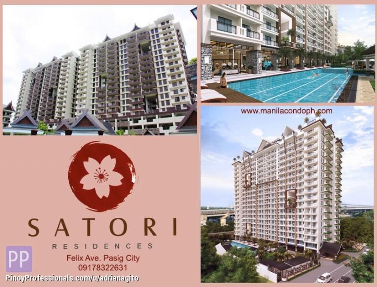 Apartment and Condo for Sale - Satori Residnces 3 Bedrooms Condo near Katipunan Santolan Lrt