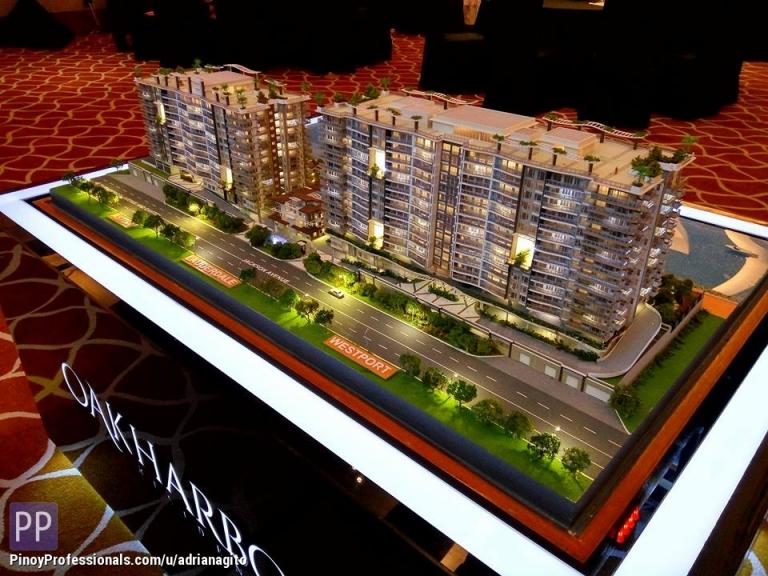 Apartment and Condo for Sale - 2 Bedroom Condo For Sale in Oak Harbor Residences near Okada Manila