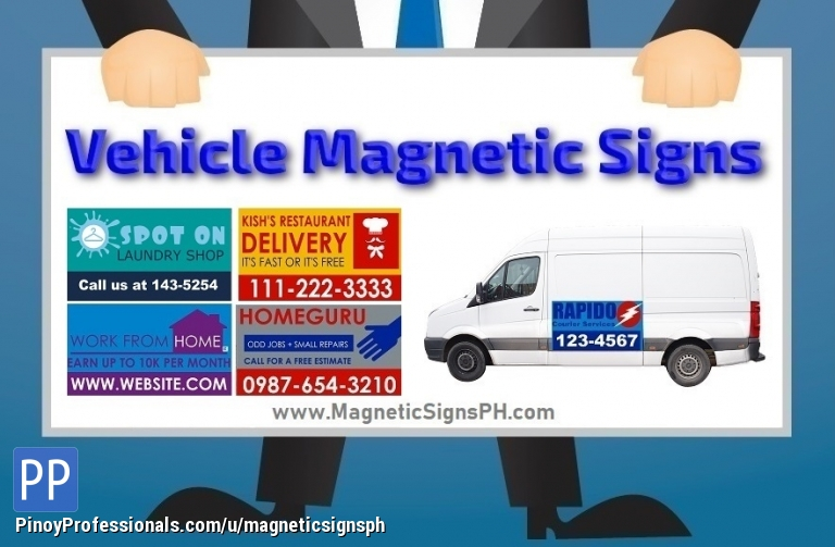 Promotional Vehicle Magnets Philippines Classifieds Everything