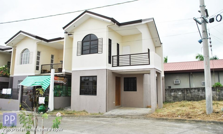 House for Sale - affordable house and lot in holiday homes biclatan near mangahan gen trias cavite