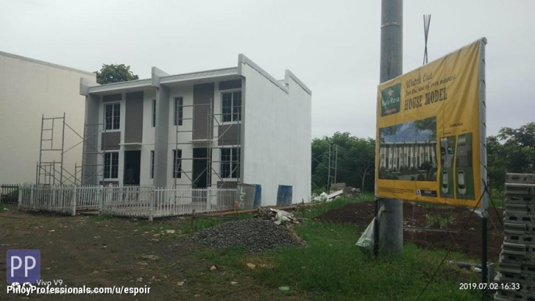 House for Sale - low cost lofted townhouse in santo tomas batangas near padre pio and lima techno park